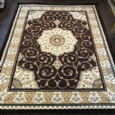 Modern Rug Approx 8x6ft 180x240cm Woven Thick rug Top Quality Brown-Beige-Cream